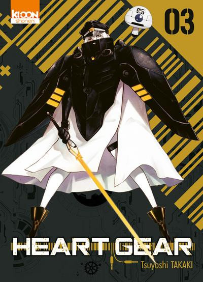 Couverture Heart gear tome 3