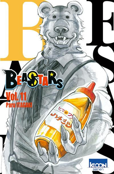 Couverture Beastars tome 11