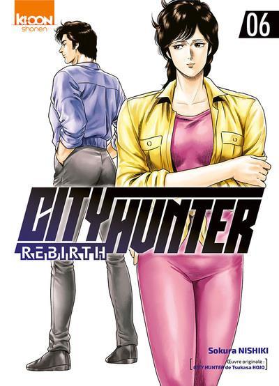 Couverture City Hunter rebirth tome 6