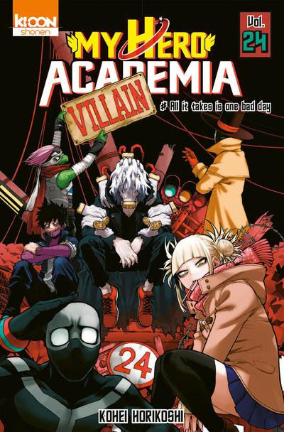 Couverture My hero Academia tome 24
