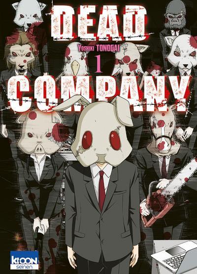 Couverture Dead company tome 1