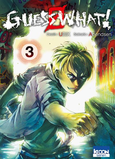 Couverture Guess what ! tome 3