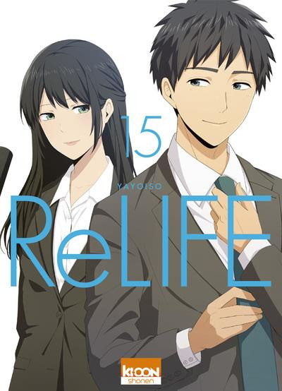 Couverture Relife tome 15