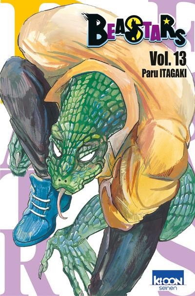 Couverture Beastars tome 13