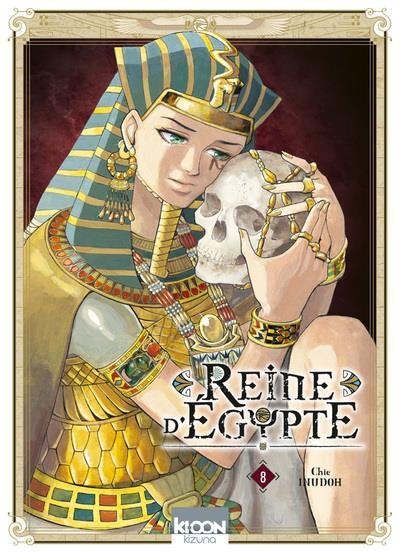 Couverture Reine d'Égypte tome 8