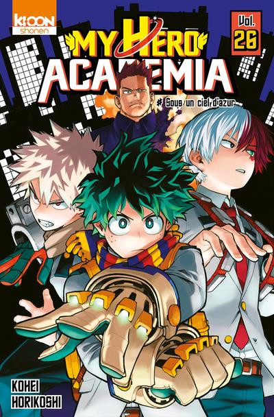 Couverture My hero Academia tome 26