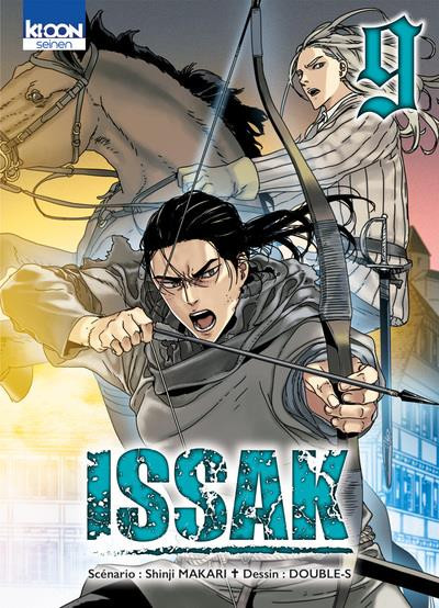 Couverture Issak tome 9