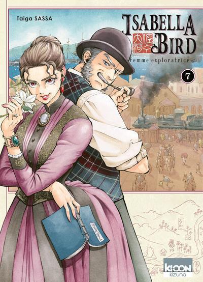 Couverture Isabella Bird, femme exploratrice tome 7