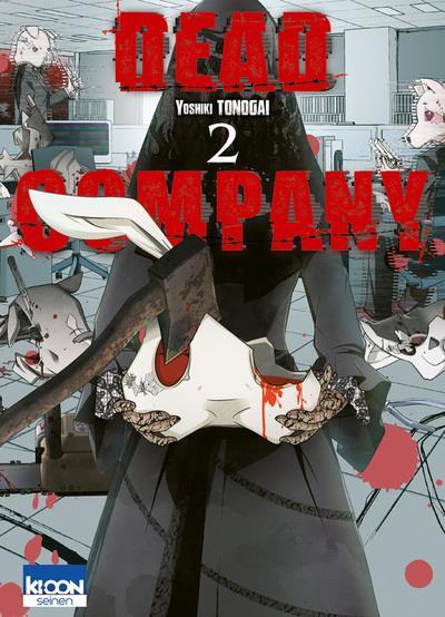Couverture Dead company tome 2
