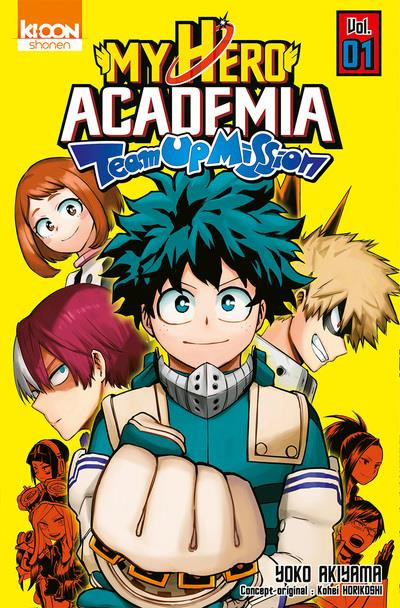 Couverture My hero academia - Team-up mission tome 1