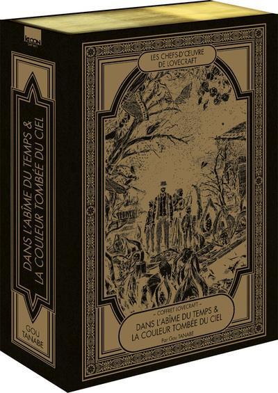 Couverture Lovecraft - coffret - L'abîme du temps & La couleur tombée du ciel