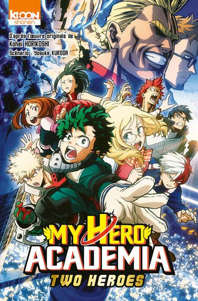 Couverture My hero academia - Two heroes