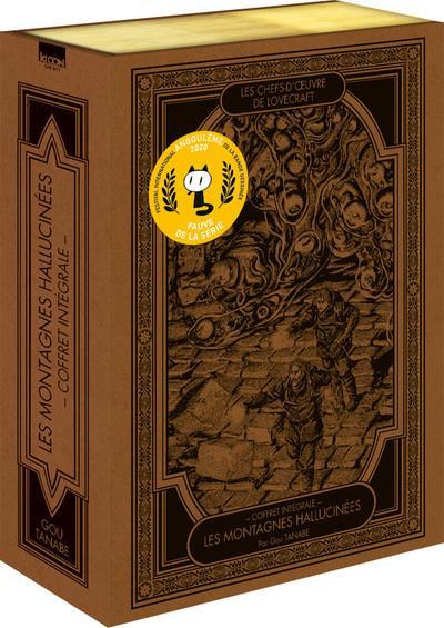 Couverture Lovecraft - coffret - Les montagnes hallucinées