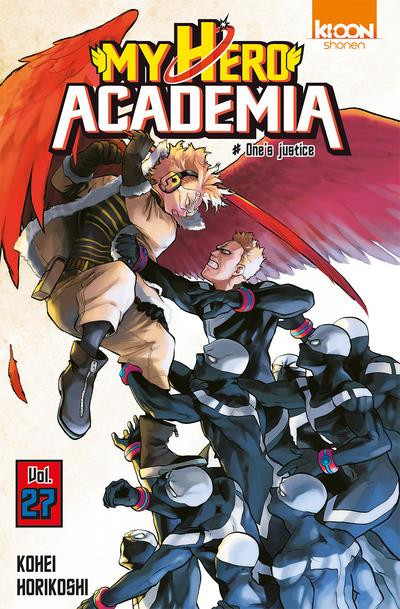 Couverture My hero Academia tome 27