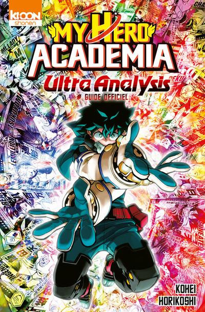Couverture My hero Academia - Ultra analysis (guide officiel)