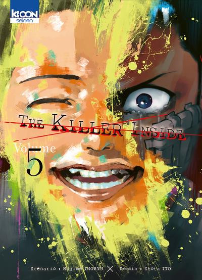 Couverture The killer inside tome 5