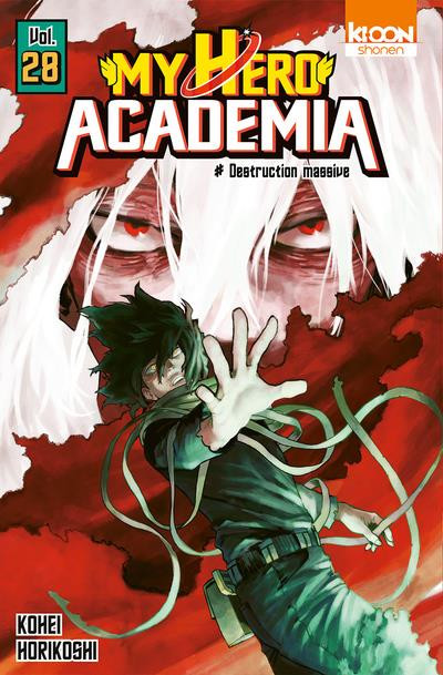 Couverture My hero Academia tome 28
