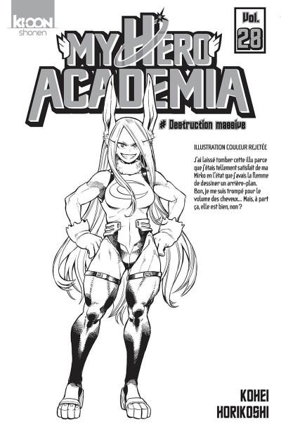 Page 1 My hero Academia tome 28