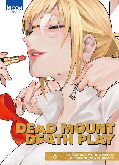 Couverture Dead mount death play tome 6