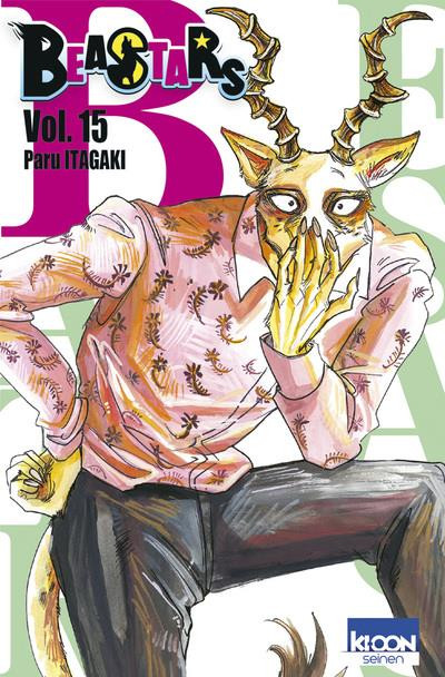 Couverture Beastars tome 15