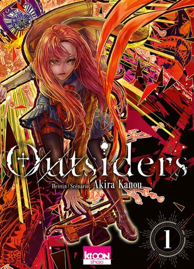 Couverture Outsiders tome 1