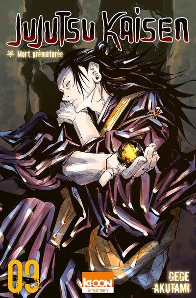 Couverture Jujutsu Kaisen tome 9
