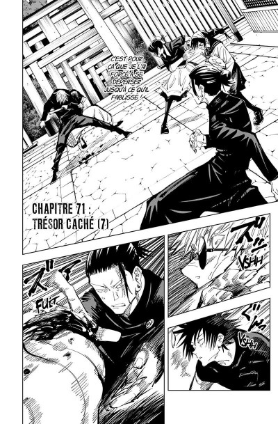 Page 7 Jujutsu Kaisen tome 9