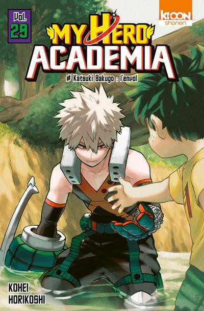 Couverture My hero Academia tome 29
