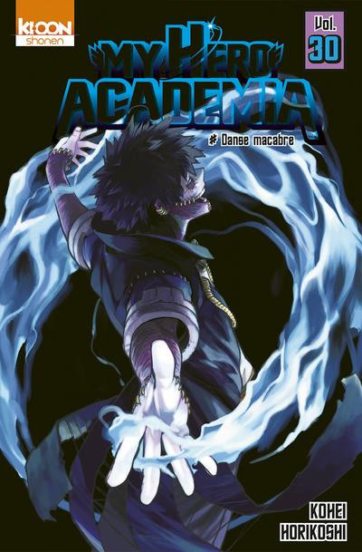 Couverture My hero Academia tome 30