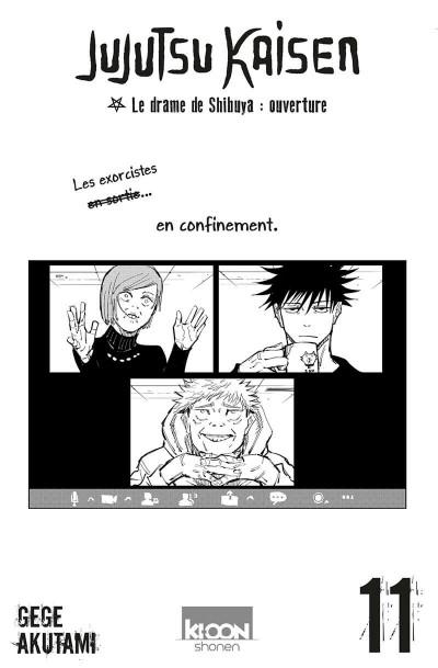 Page 1 Jujutsu kaisen tome 11