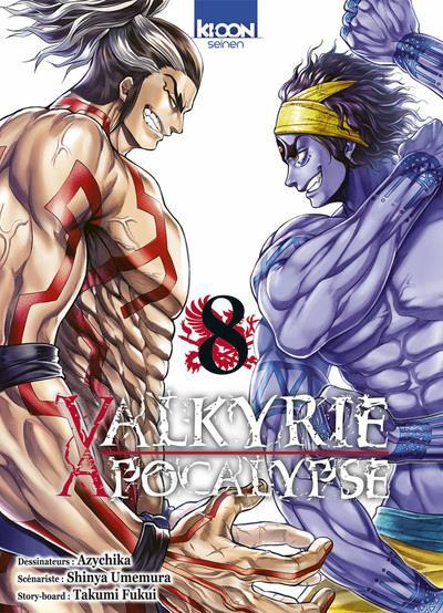 Couverture Valkyrie apocalypse tome 8