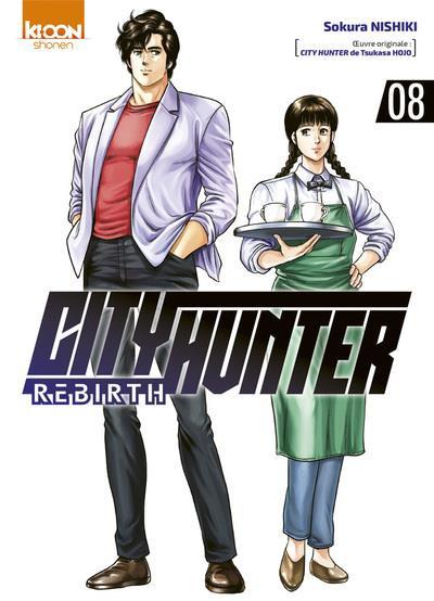 Couverture City Hunter - rebirth tome 8