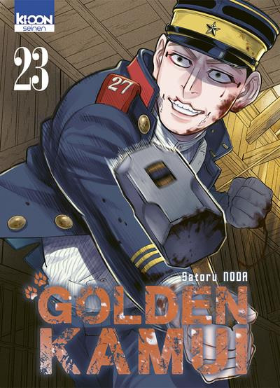 Couverture Golden kamui tome 23