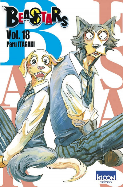Couverture Beastars tome 18