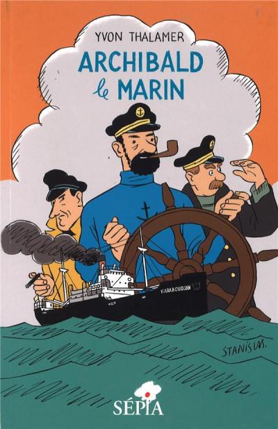 Couverture Archibald le marin