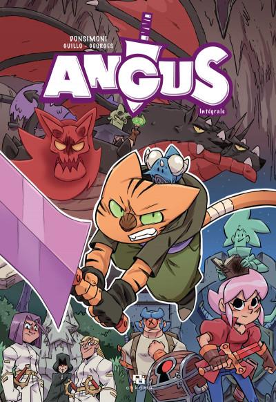 Couverture Angus - intégrale