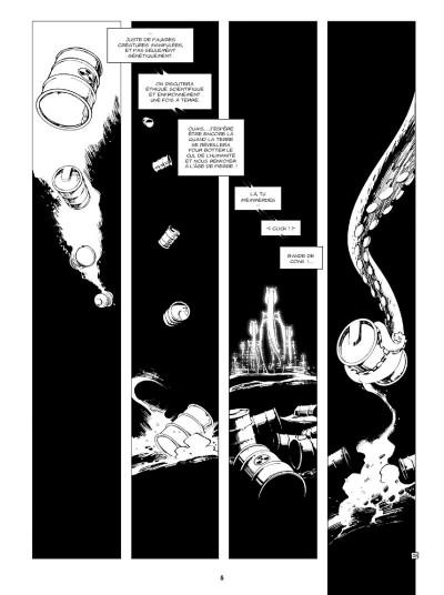 Page 3 Niourk - intégrale noir et blanc