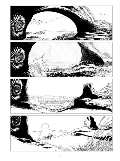 Page 5 Niourk - intégrale noir et blanc