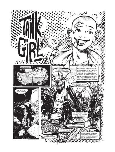 Page 1 Tank Girl - intégrale