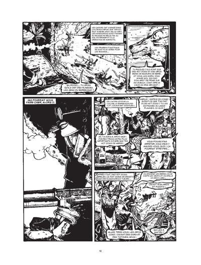 Page 2 Tank Girl - intégrale