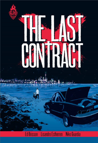 Couverture The last contract