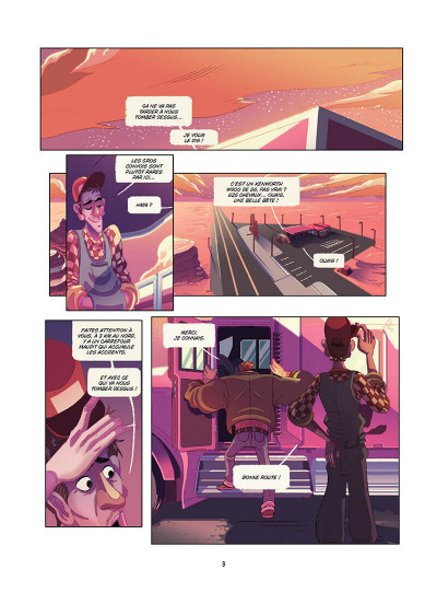 Page 4 Death road tome 1