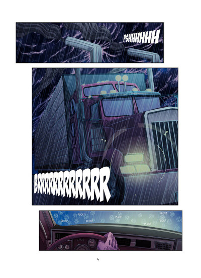 Page 5 Death road tome 1