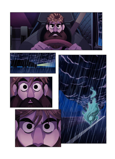Page 6 Death road tome 1