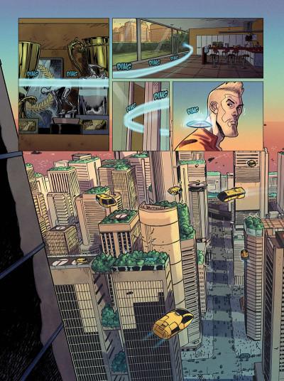 Page 5 La peur géante - intégrale