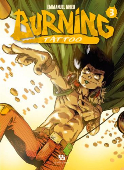 Couverture Burning tattoo tome 3