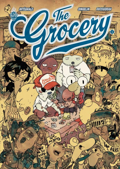 Couverture The Grocery - intégrale
