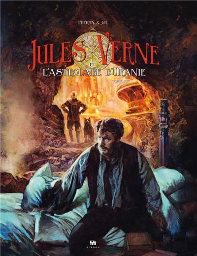 Couverture Jules Verne et l'astrolabe d'Uranie tome 2