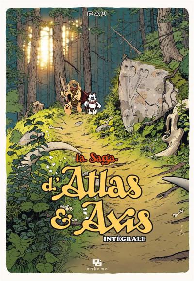 Couverture La saga d'Atlas & Axis - intégrale
