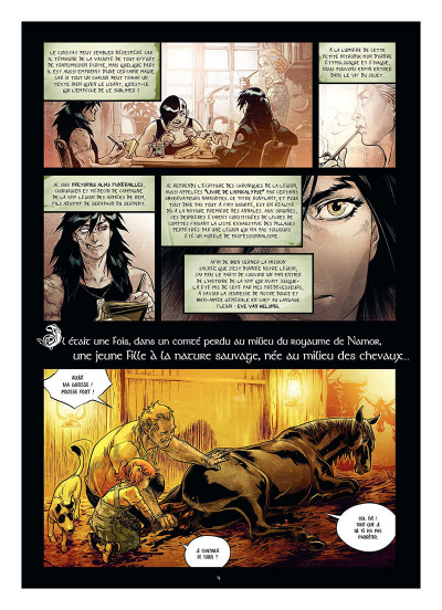 Page 7 Freaks' squeele - funérailles tome 4